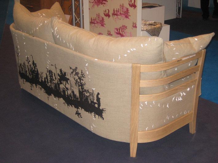 No more boring beige sofas