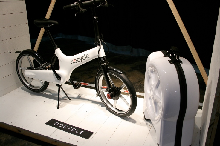 The Gocycle - the world's lightest production electric bicycle