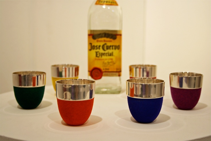 Sarah Stevenson Tequila shot 'glasses'
