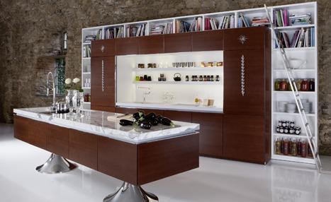 Press image of 1 of Phillipe Stark's kitchen designs for Warendorf
