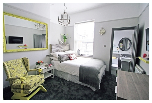 Luxury Boutique hotel room West Didsbury, South Manchester