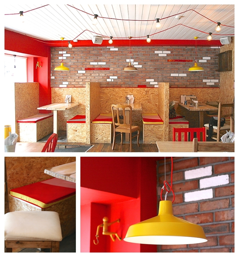 The Splendid Sausage Co, Manchester designed by Sian Astley at Moregeous