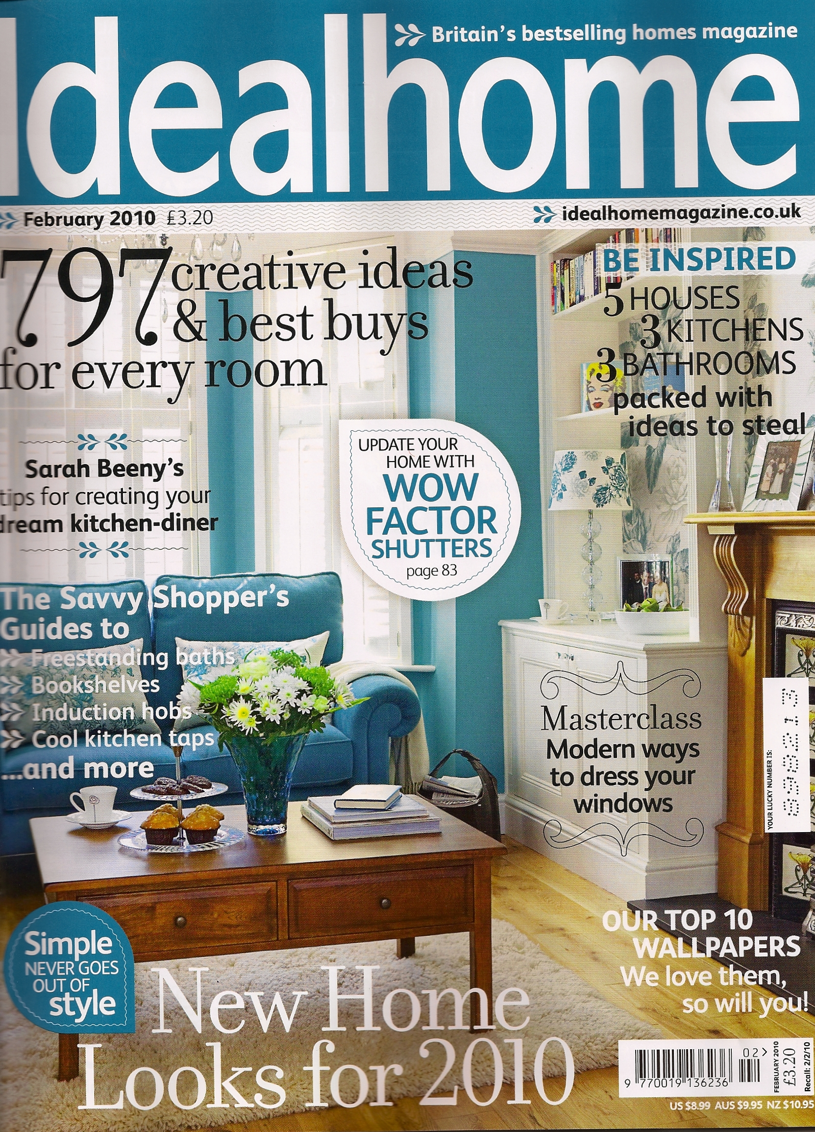 Property: Ideal Home Feb 2010 with a Moregeous designed and ...
