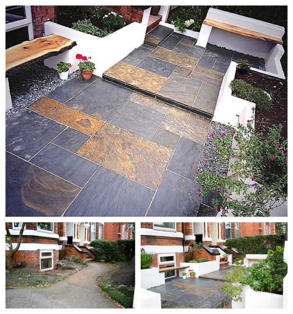 Garden makeover Manchester by Moregeous Design