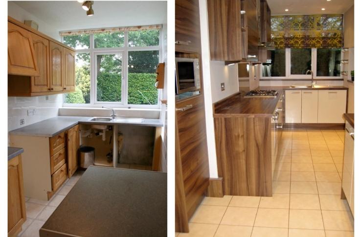 B&A Coral kitchen