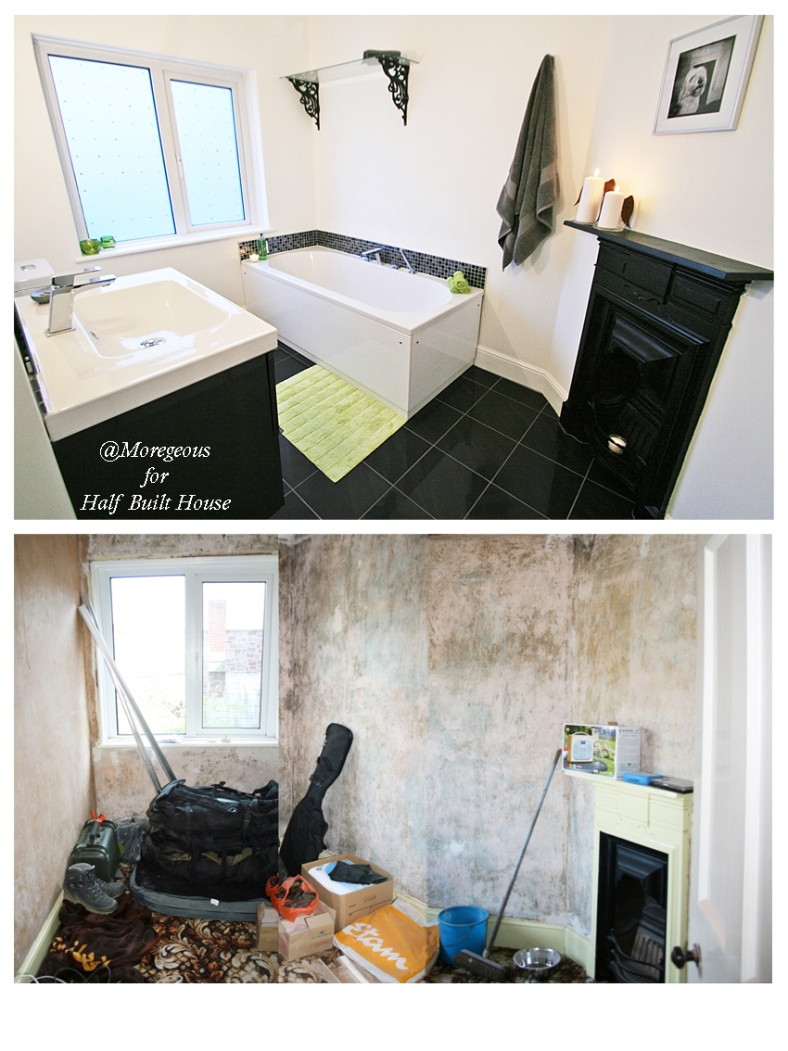 Channel Five's Half Built House Exeter Bathroom, designed by Sian Astley @Moregeous