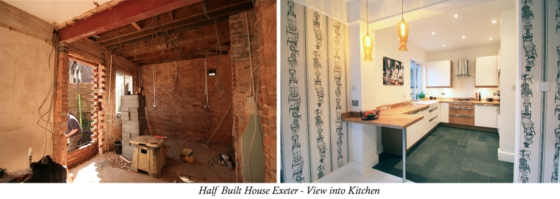 Channel Five's Half Built House Exeter Kitchen, designed by Sian Astley @Moregeous