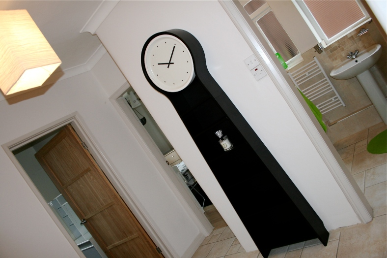 Ikea PS Pendel clock in hallway image