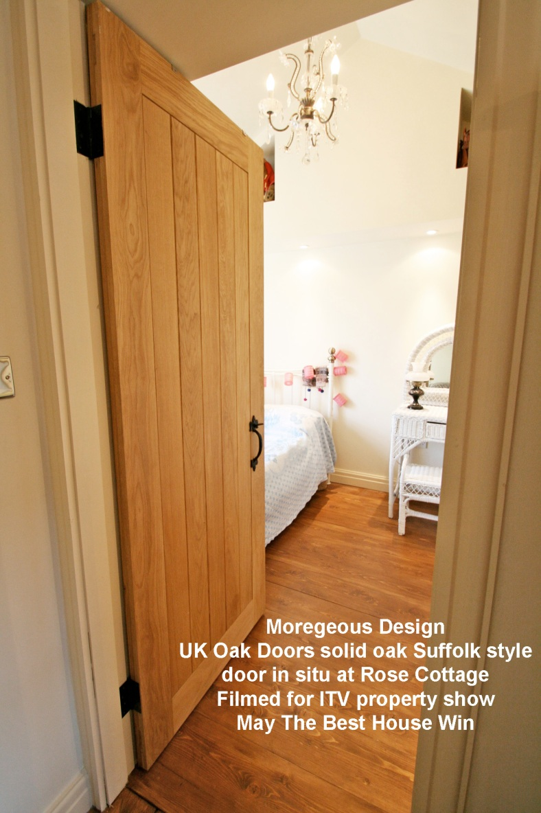 Project Rose – Gorgeous Suffolk style solid oak doors ...