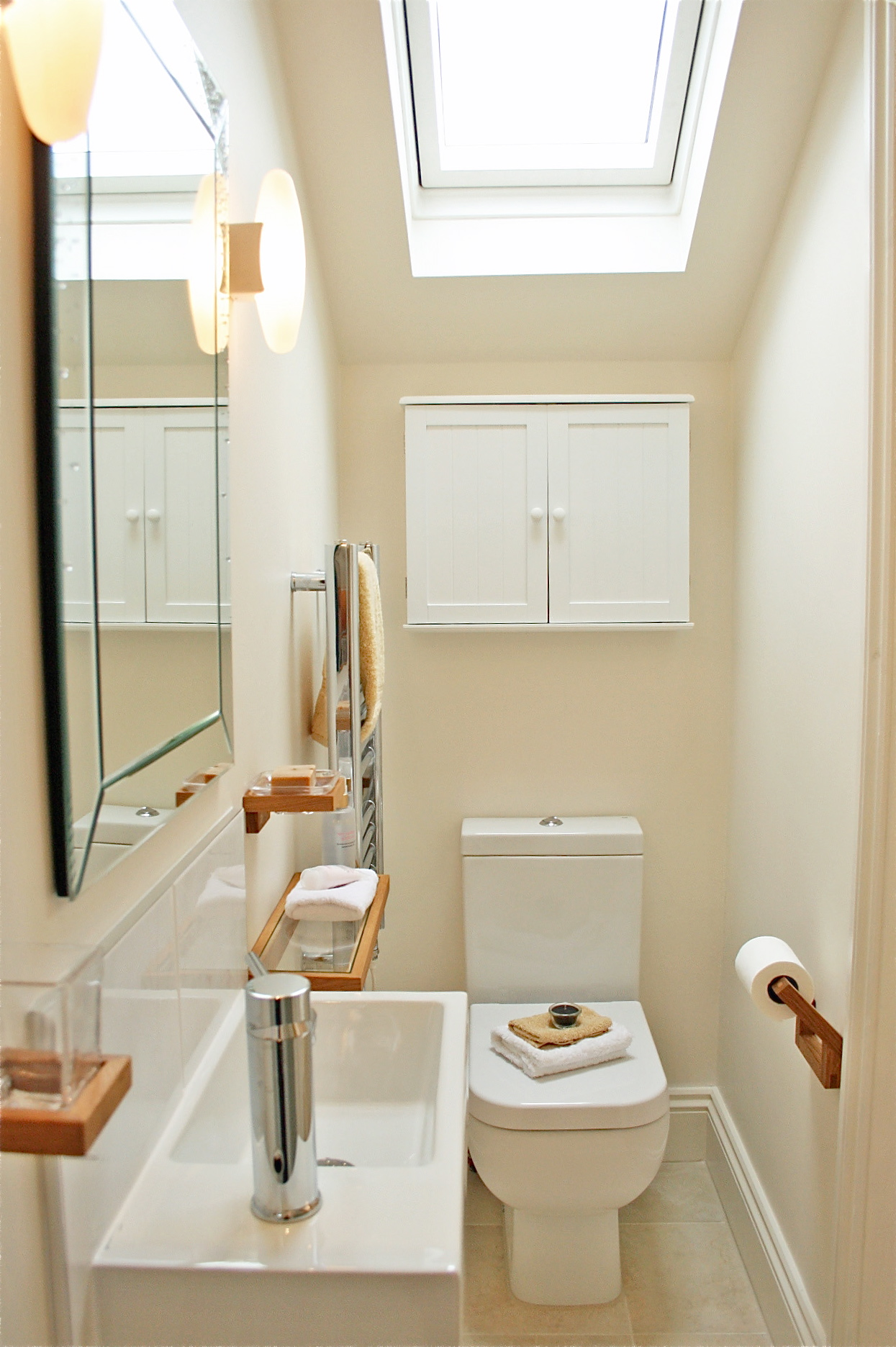 Project squeeze layout explained and completed shower for Rectangular bathroom layout
