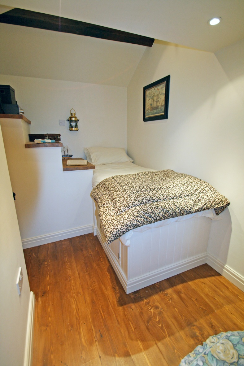 How To Create A Small Space Bed Deck Over Stairs