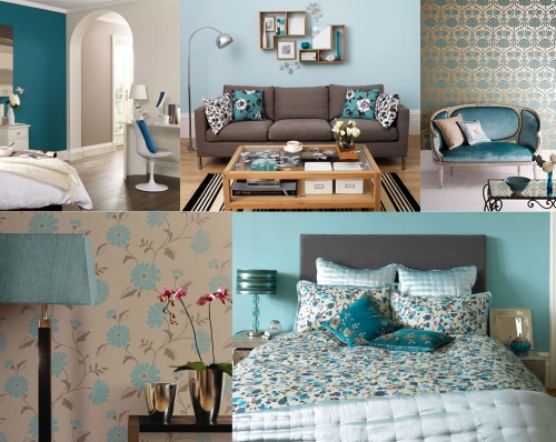 Teal And Taupe Colour Scheme Moregeous More Than Gorgeous The House A Blog Built