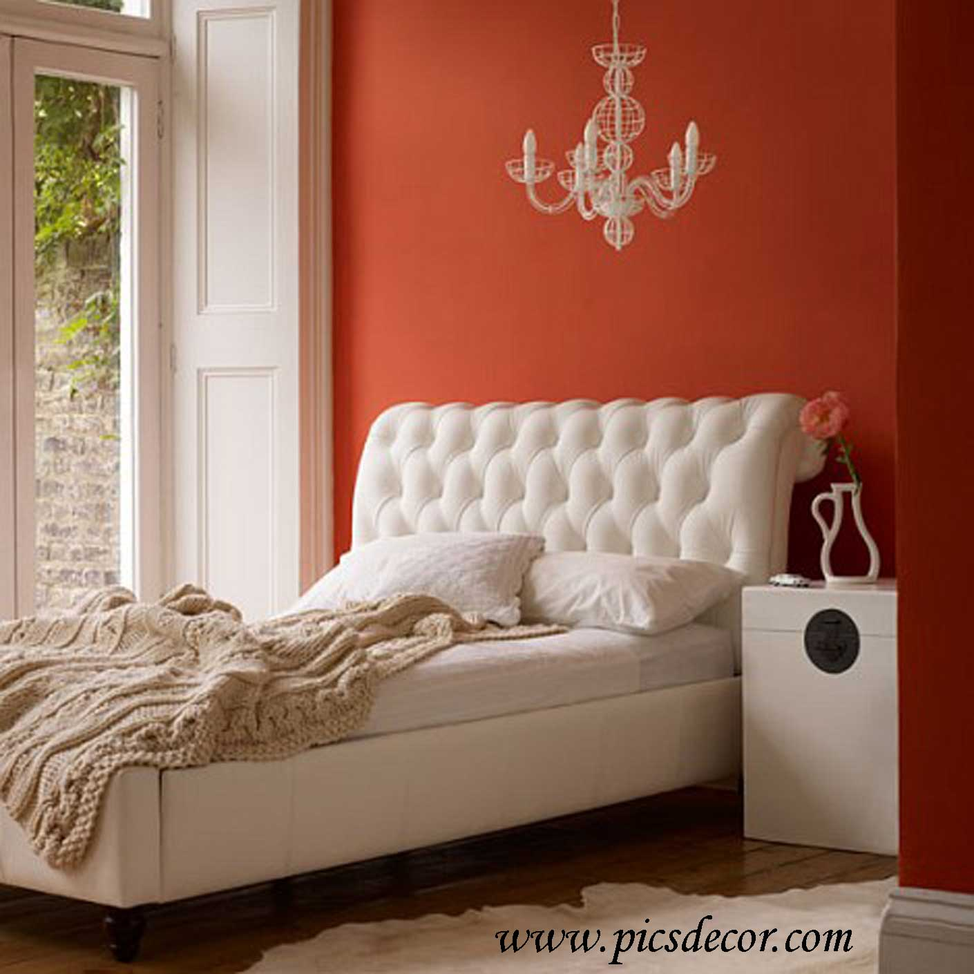 Terracotta Bedroom Designs