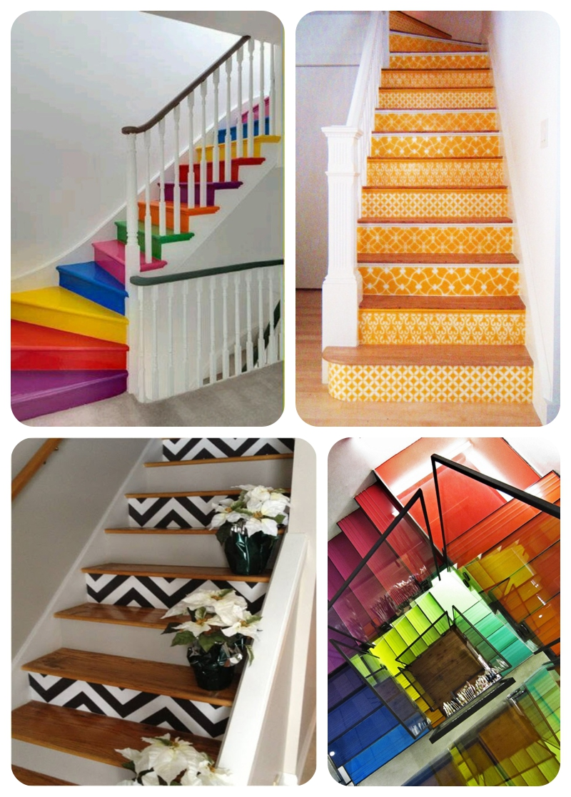 How to create colourfully painted, wallpapered and ...