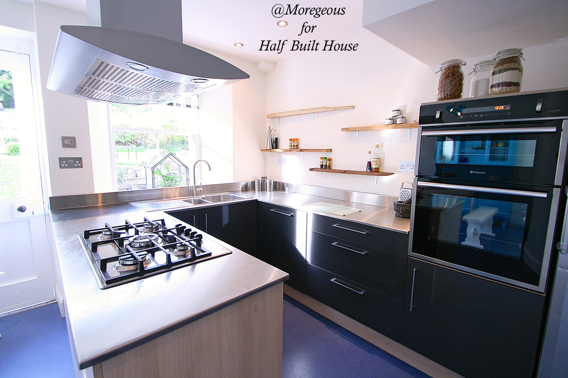 Half Built House Perthshire Kitchen Sian Astley