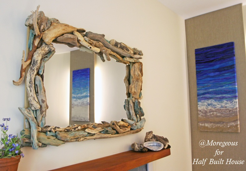 PS-3009 Half Built House Pitlochry Perthshire Driftwood mirror