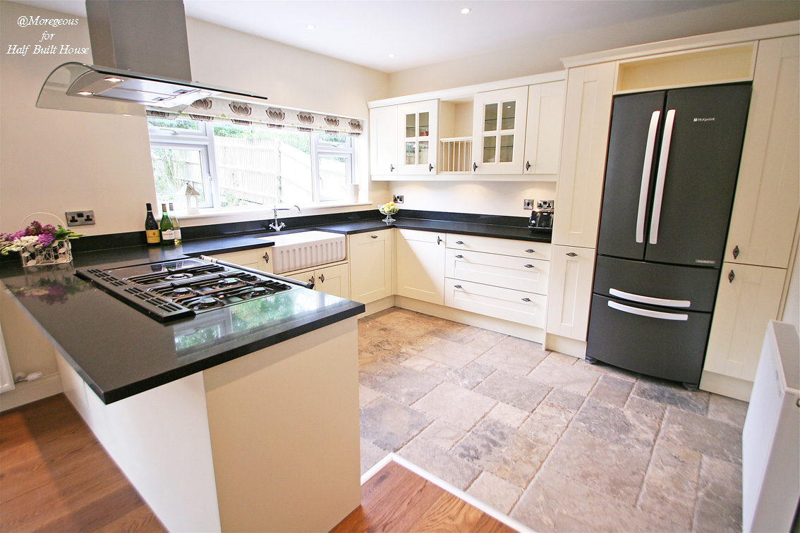 Hbh Eastbourne An English Shaker Cream Kitchen With A Touch Of French Fancy Moregeous
