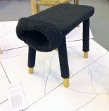 100% Design 2012 Robert Grimshaw Knit stool