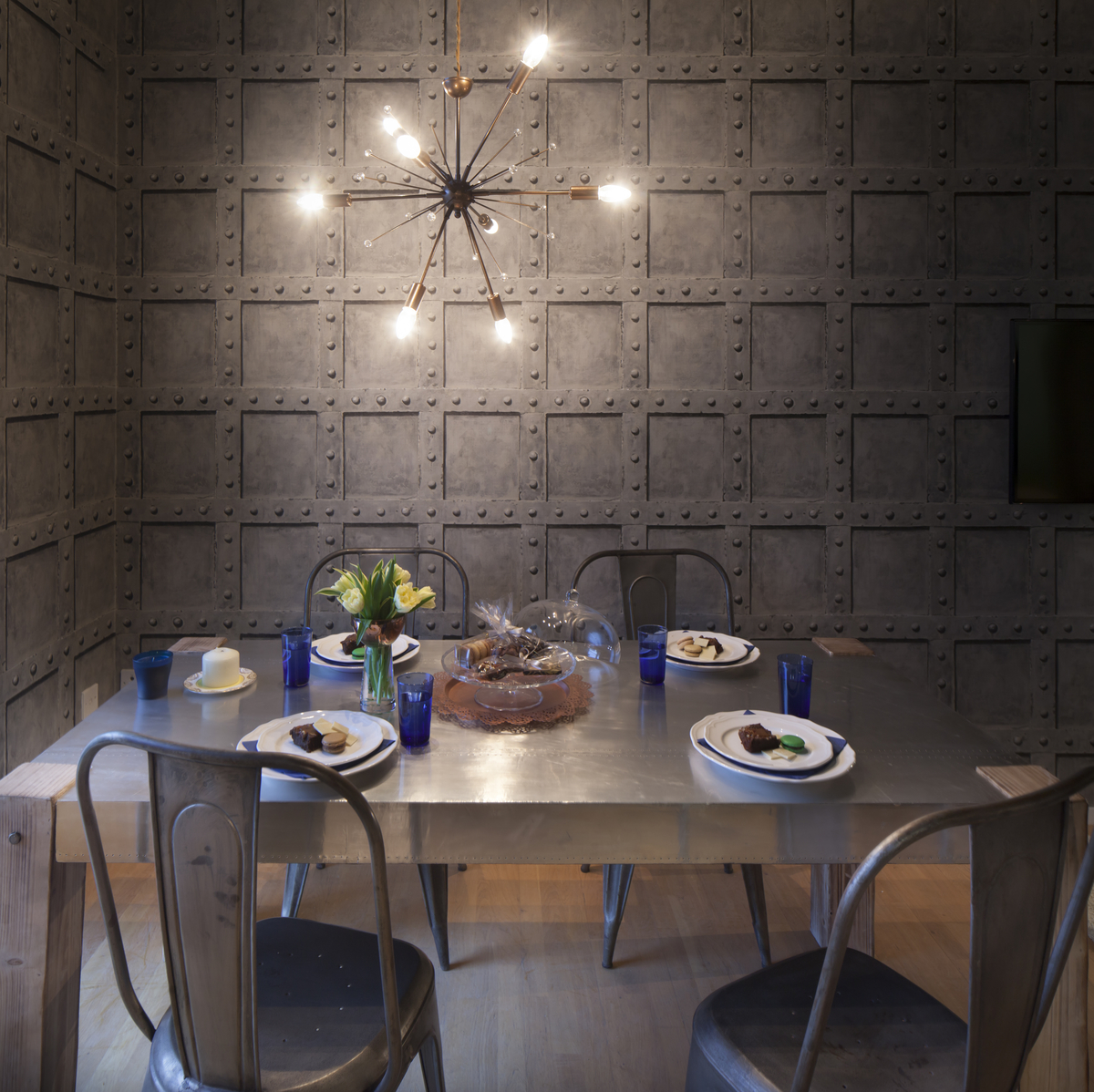 Sian Astley Moregeous Design Project Rivet Dining area