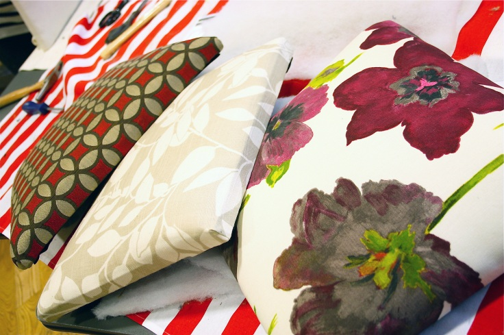 Padded seat cushions at Moregeous Masterclass