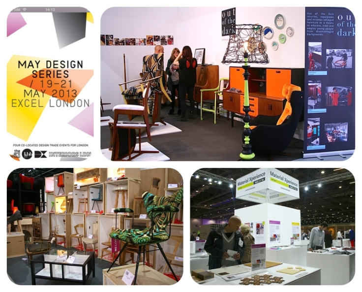 May Design Series, Interiors London, KBB, Arc 2013 - Moregeous review