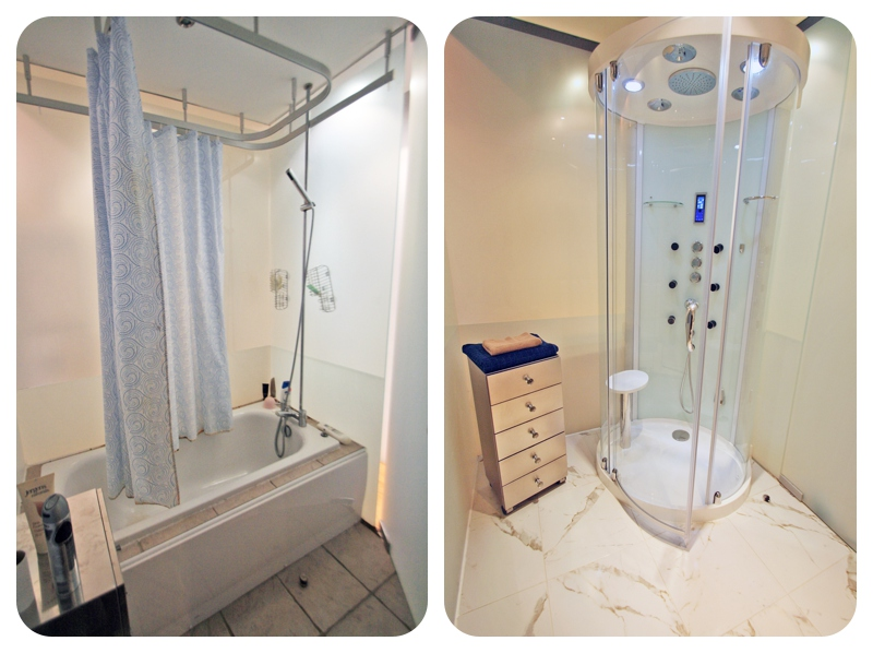 How To Update A Pod Glass Bathroom Using A Luxury Steam Shower
