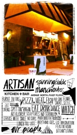 Artisan Manchester, Living Ventures, on the Moregeous Blog