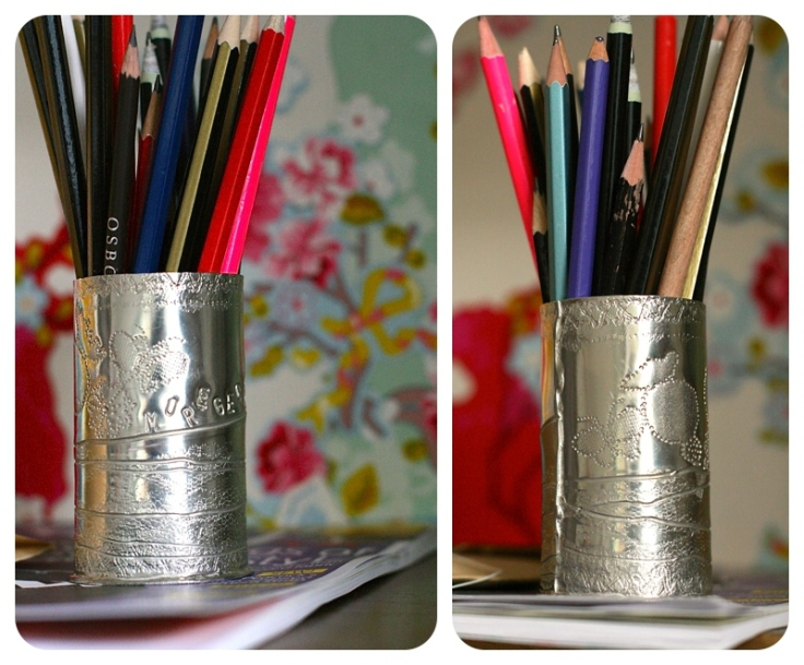 Pewter vase made in Manchester Craft Centre by Moregeous