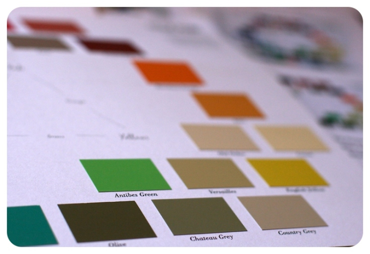 Annie Sloan Chalk Paint colour card 2013