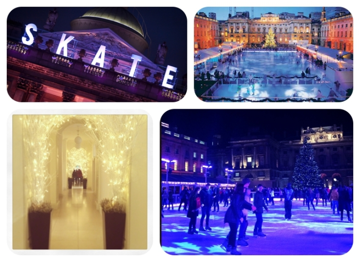 Christmas arcade at Somerset House 2013