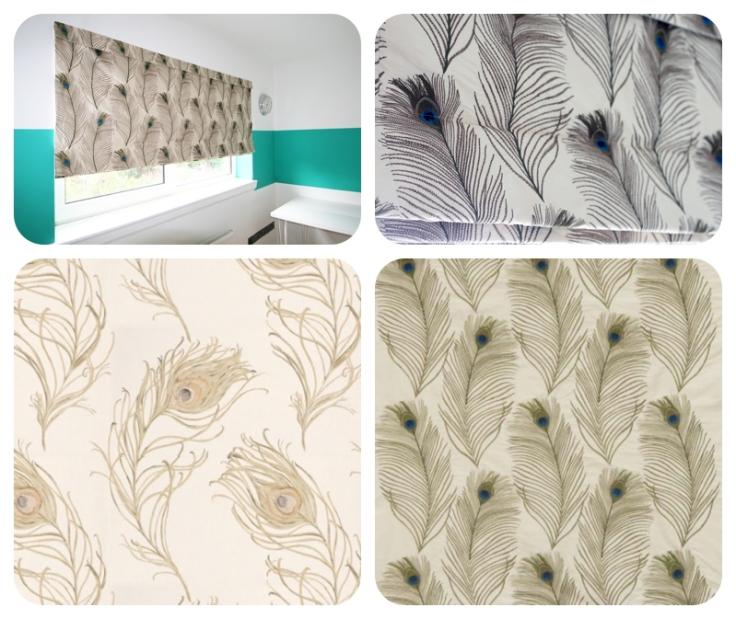 Peacock fabrics
