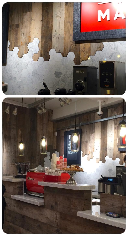 West Elm coffee bar, London