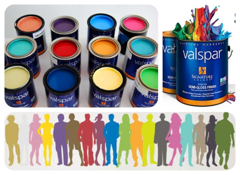 Valspar Paints in B&Q