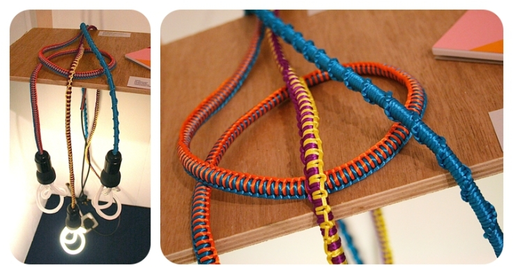 Charlotte Nash textile crafted lighting cable