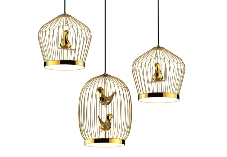 Jake Phipps Tweetie Pendant Lamp