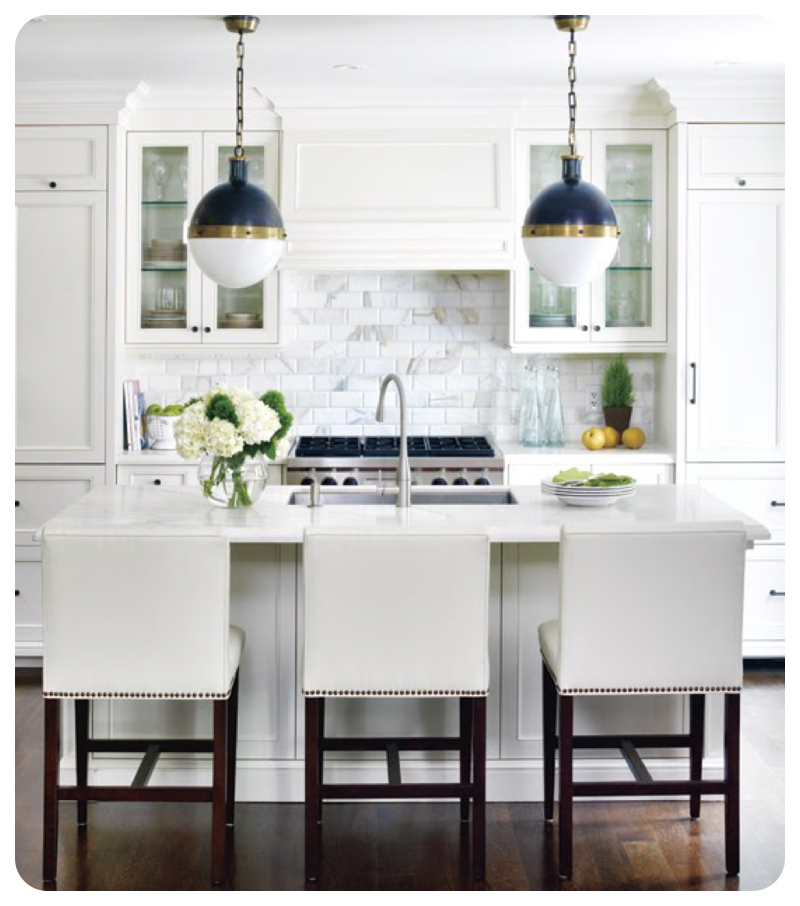 White Kitchen Dark Splashback: Ten Interior Design Tips To Get Perfect Subway Tile Style