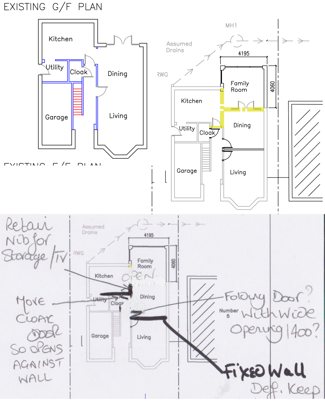 Blog reader advice ground floor extension layout how open plan to go moregeous making - Lay outs grond helling ...