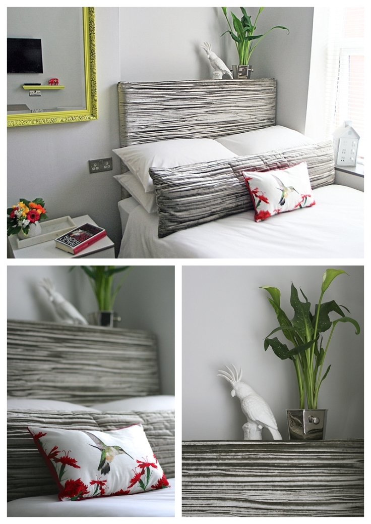 Making your own padded headboard