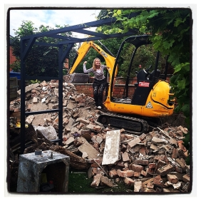 Mini Digger Hire Station Manchester