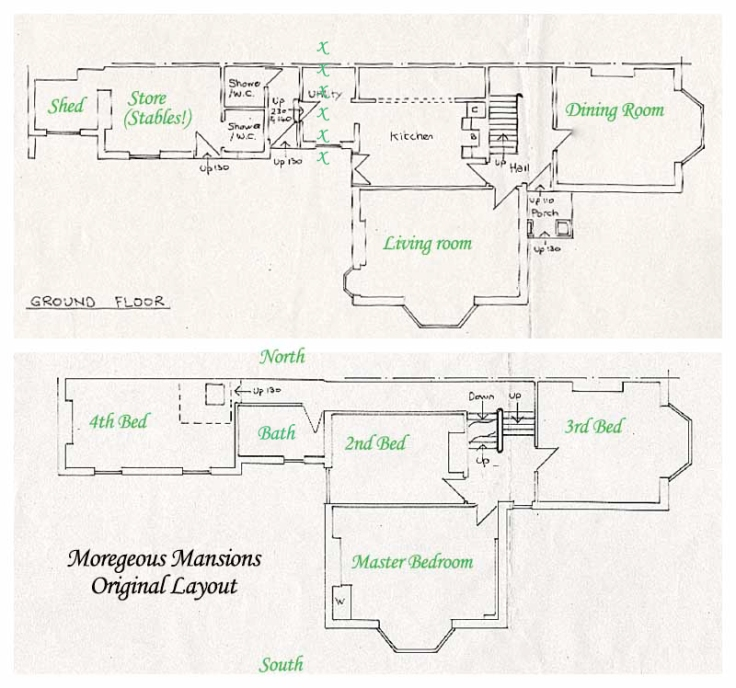 Moregeous Mansions current layout