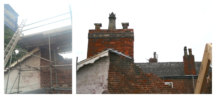 How to lower an original period chimney