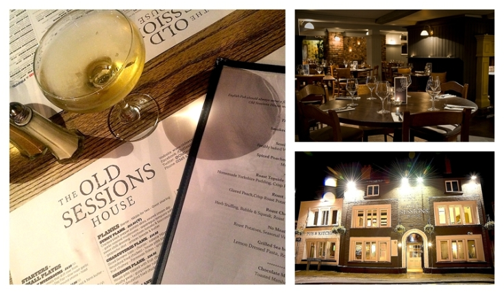 The Old Sessions House, Knutsford roast dinner