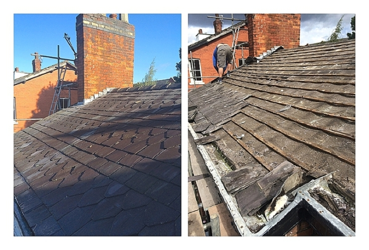 How to source reclaimed roof slates