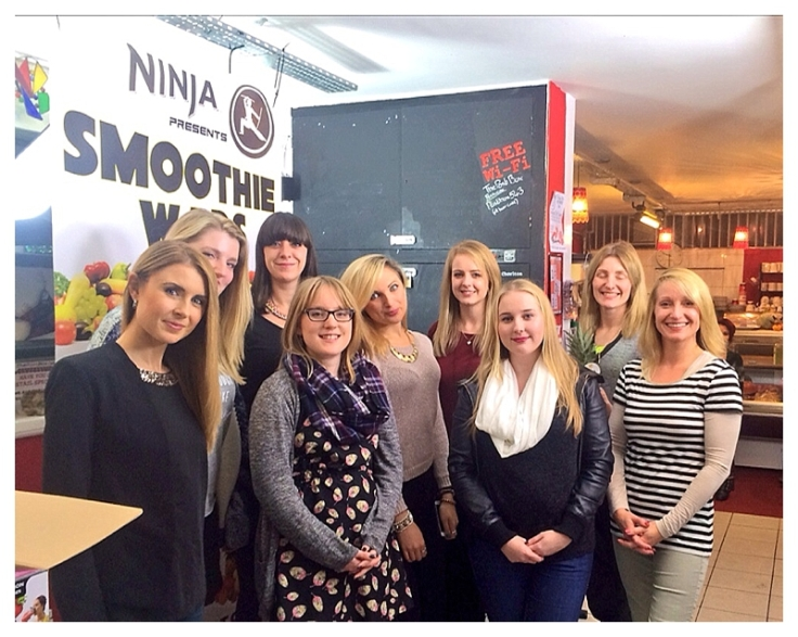 Nutri Ninja Blogger Smoothie wars