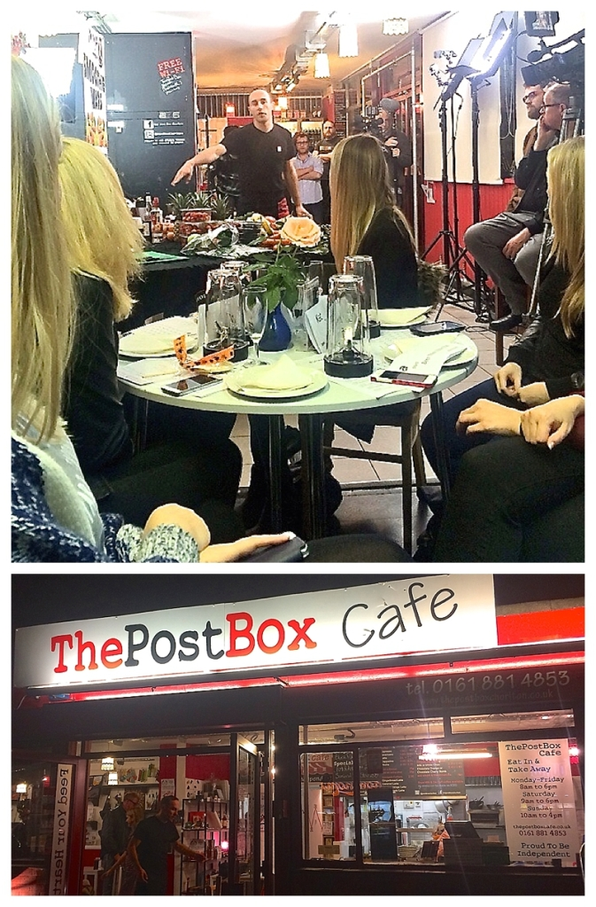 The Post Box Cafe, Chorlton Nutri Ninja Smoothie Wars evening
