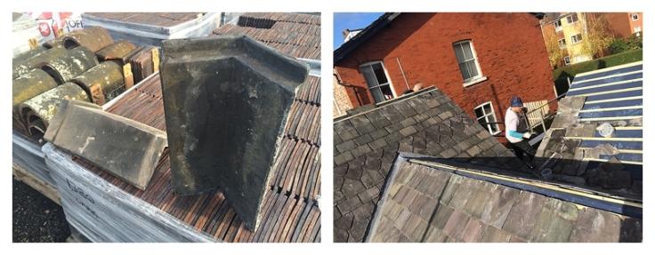 Choosing Victorian decorative reclaimed ridge tiles