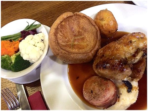 Sunday Roast Dinner at The Metropolitan West Didsbury