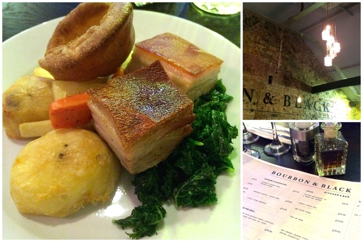 Bourbon & Black Didsbury Roast Dinner