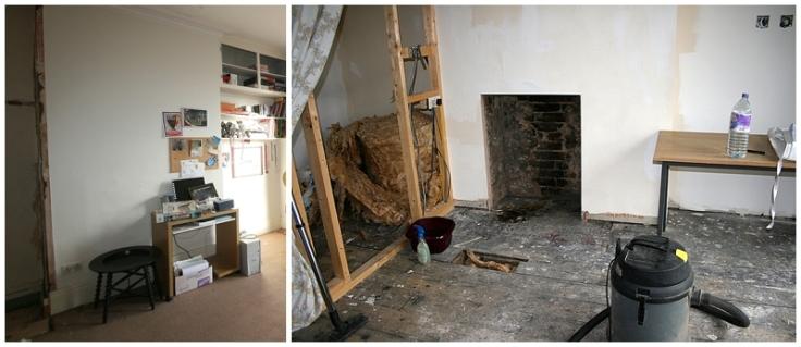 Opening up Edwardian fireplace