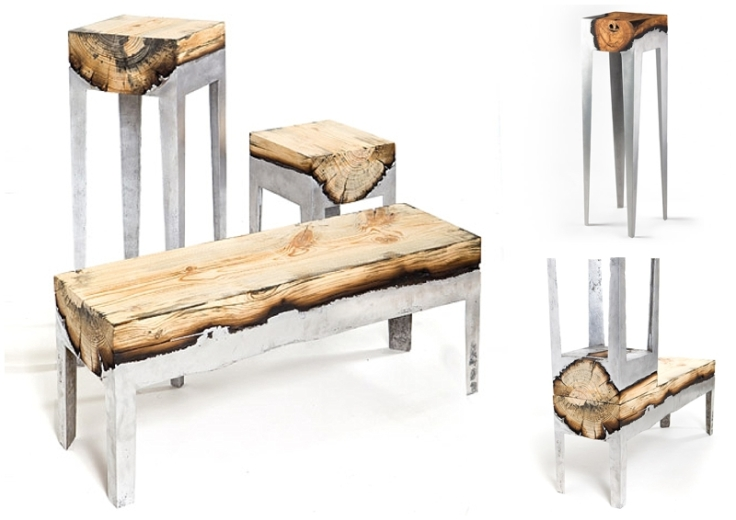 Hilla Shamia's Wood Casting Collection